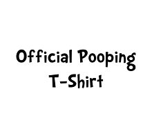 Official Pooping Shirt by TheBestStore