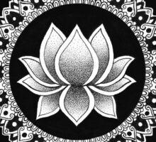 Lotus Mandala Sticker