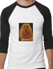 Love Spaniels Men's Baseball ¾ T-Shirt