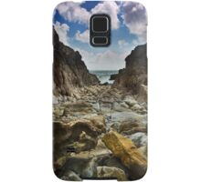 Stoney Cove Below Lydstep Head,Pembrokeshire Samsung Galaxy Case/Skin