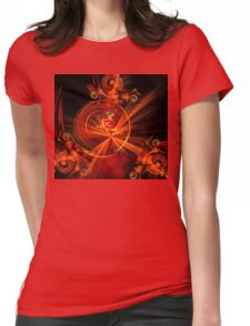 Regal Spheres Womens Fitted T-Shirt