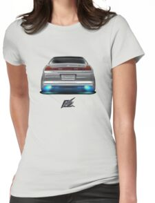 naquash design honda accord coupe v6 rear Womens Fitted T-Shirt