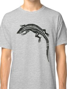 Common Lizard Lino Print Classic T-Shirt