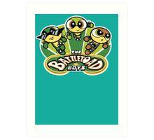 The Battletoad Boys Art Print