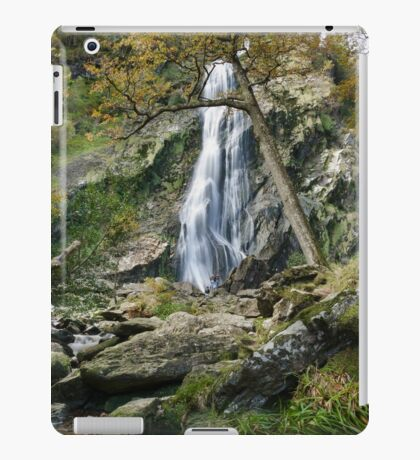 Powerscourt Waterfall & photographers  iPad Case/Skin