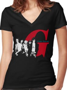 Game Theory - Promo Women's Fitted V-Neck T-Shirt