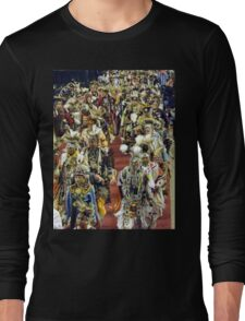 Native American Procession Long Sleeve T-Shirt