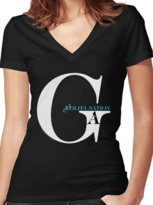 Game Theory - Lolita Nation Women's Fitted V-Neck T-Shirt