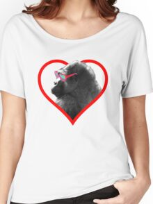 Gorilla Heart Women's Relaxed Fit T-Shirt