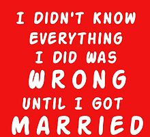 UNTIL I GOT MARRIED by Divertions