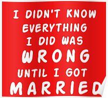 UNTIL I GOT MARRIED Poster