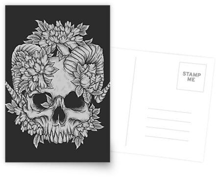 Japanese Skull by robinclarijs