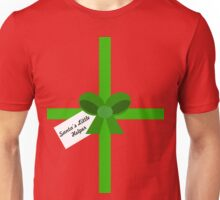 'Santa's Little Helper' Present (Green) Unisex T-Shirt