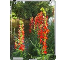Cardinal Flowers iPad Case/Skin