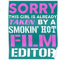 This Girl Taken By A Smokin Hot Film Editor Poster