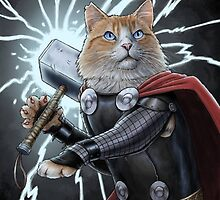 Cat Thor by wormlite