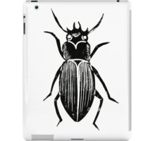 Beetle Lino Print iPad Case/Skin