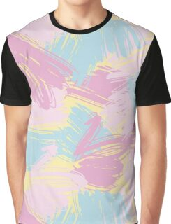 Funny pastlel brush strokes Graphic T-Shirt