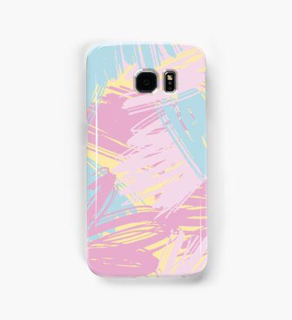 Funny pastlel brush strokes Samsung Galaxy Case/Skin