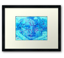 Birth of the Blues Framed Print