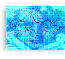 Birth of the Blues Canvas Print