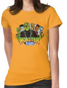 Monster Bash Womens Fitted T-Shirt