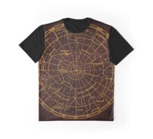 Constellation Map - Star Chart Graphic T-Shirt