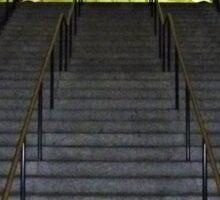 Washington DC Metro Stairs Sticker