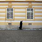 Priest of Melk, Austria. by geof
