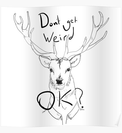 People Of Earth. Stag/Deer Poster