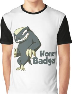 Honey Badger - Don't Care Graphic T-Shirt