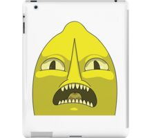 Lemon grab UNACCEPTABLE  iPad Case/Skin