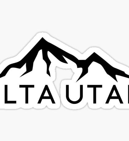 ALTA UTAH MOUNTAINS SKIING SKI HIKING BIKING CLIMBING Sticker