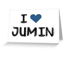 I love Jumin , Mystic Messnger Greeting Card