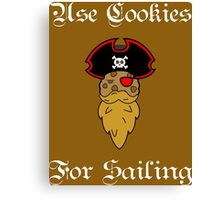 use cookies!!!! Canvas Print