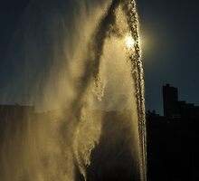 Pittsburgh Fountain at Point State Park by BLaskowsky