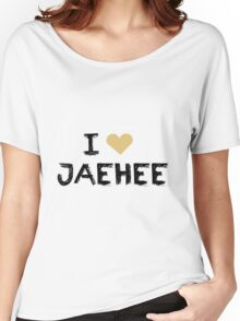 I love Jaehee , Mystic Messnger Women's Relaxed Fit T-Shirt
