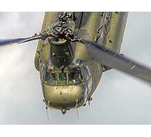 Wokka Wokka !! Chinook Dunsfold 2014 - HDR Photographic Print