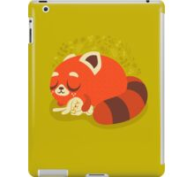 Sleeping Red Panda and Bunny iPad Case/Skin