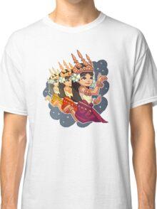 Pixel Apsara Dancing Classic T-Shirt