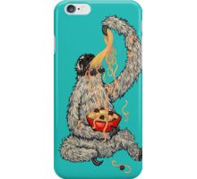 A Sloth Eating Spaghetti iPhone Case/Skin