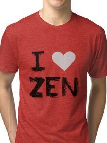 I love Zen , Mystic Messenger Tri-blend T-Shirt