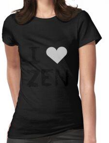 I love Zen , Mystic Messenger Womens Fitted T-Shirt
