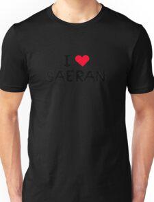 I love Saeran, Mystic Messenger Unisex T-Shirt
