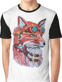 Fox wearing Goggles Graphic T-Shirt