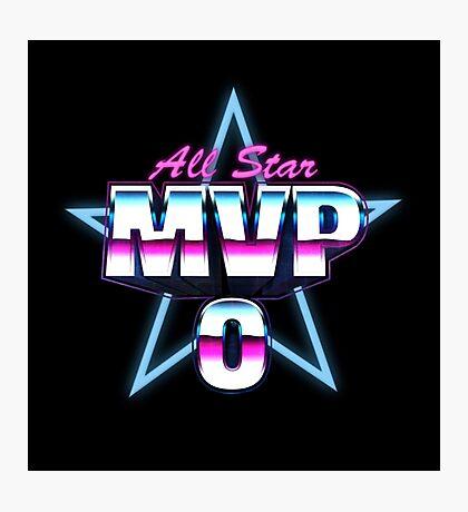 All Star MVP #0 Photographic Print