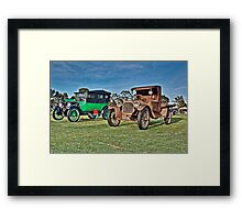 Classic Dodge Cars Framed Print