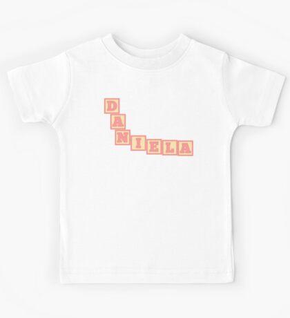 Baby Daniela in alphabet building blocks Kids Tee