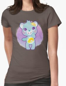 Wish bear Womens Fitted T-Shirt