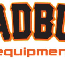 MadBum Equipment Sticker